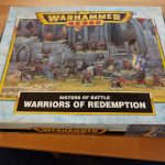 Sisters of Battle Warriors of Redemption Box